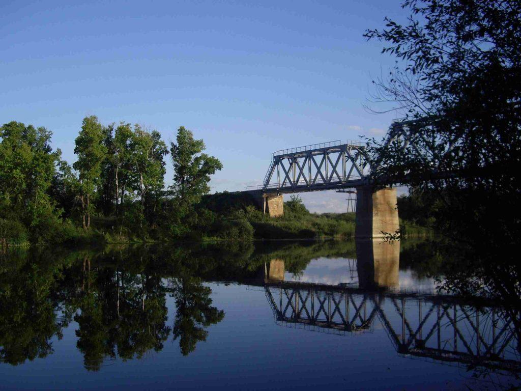 Железнодорожный мост через Большой Иргиз