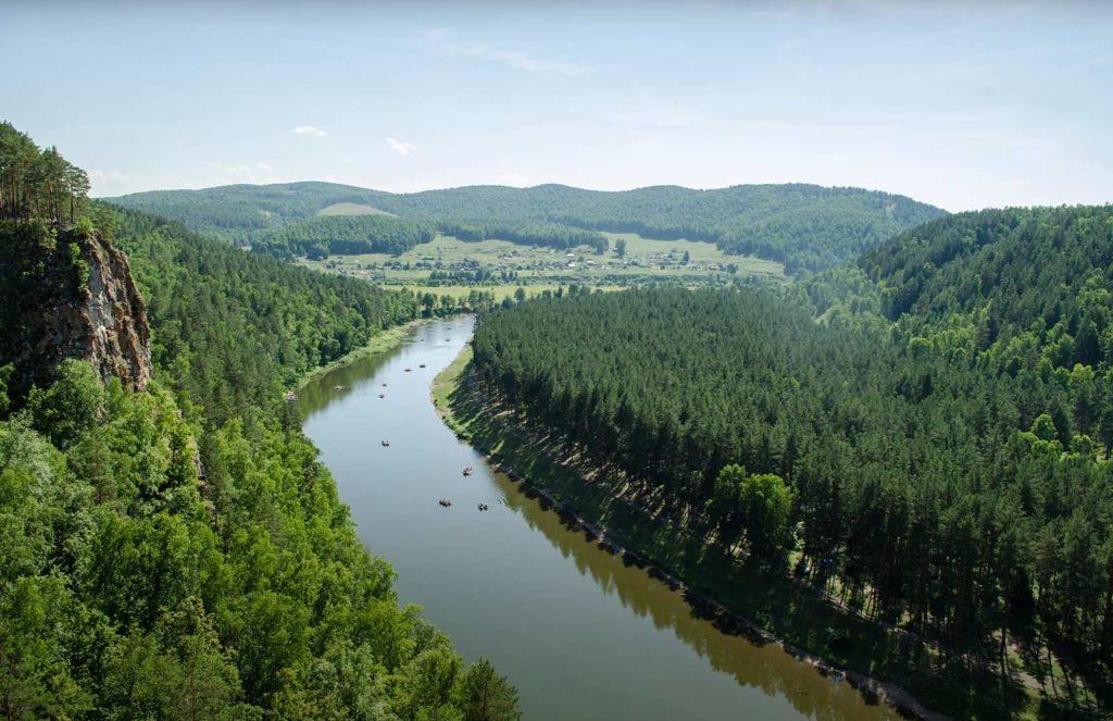Ай река сплав