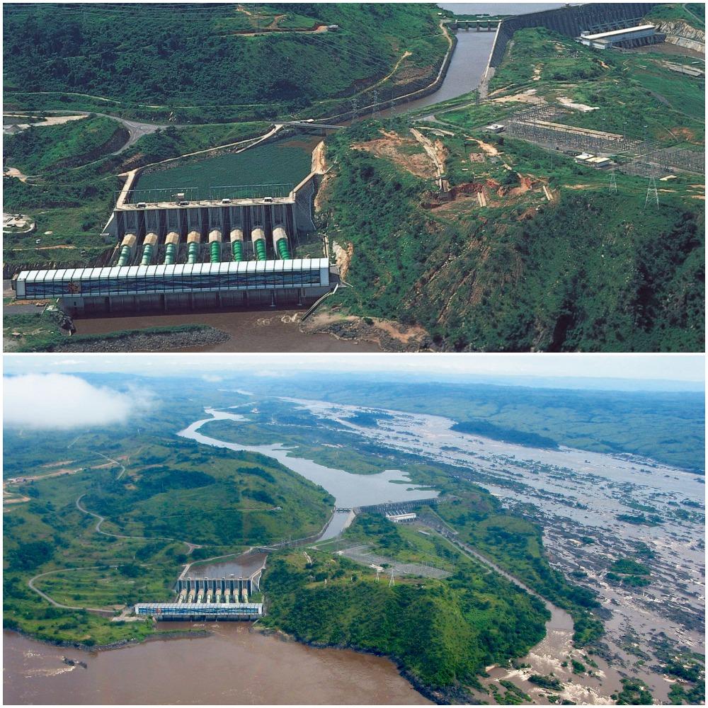 ГЭС на реке Конго