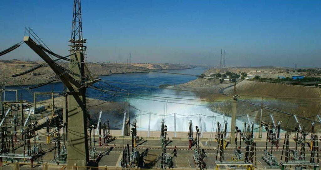 ГЭС на реке Нил