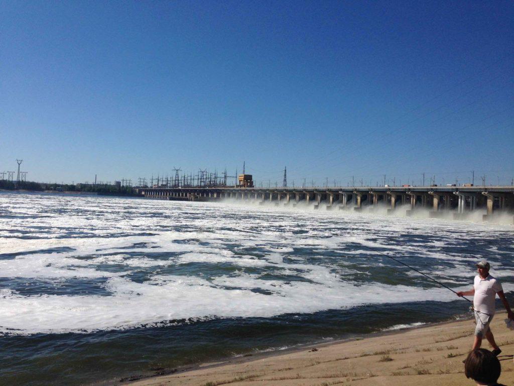 ГЭС на реке Волга