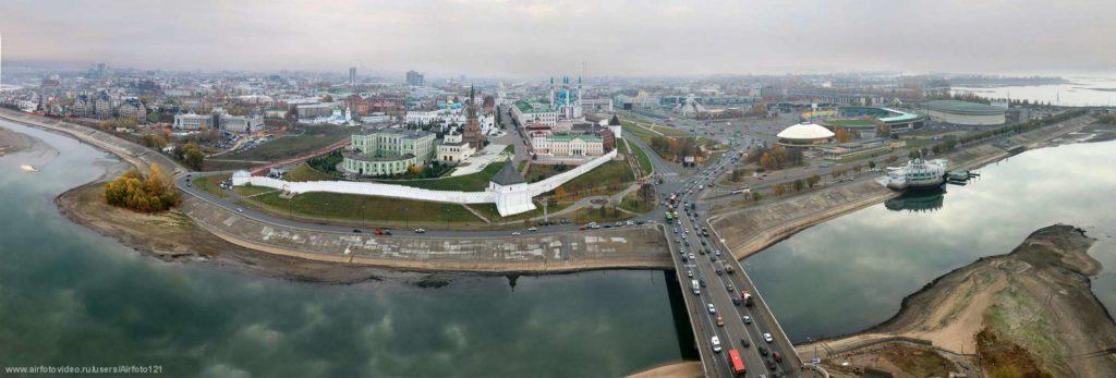 Какая река протекает в Казани