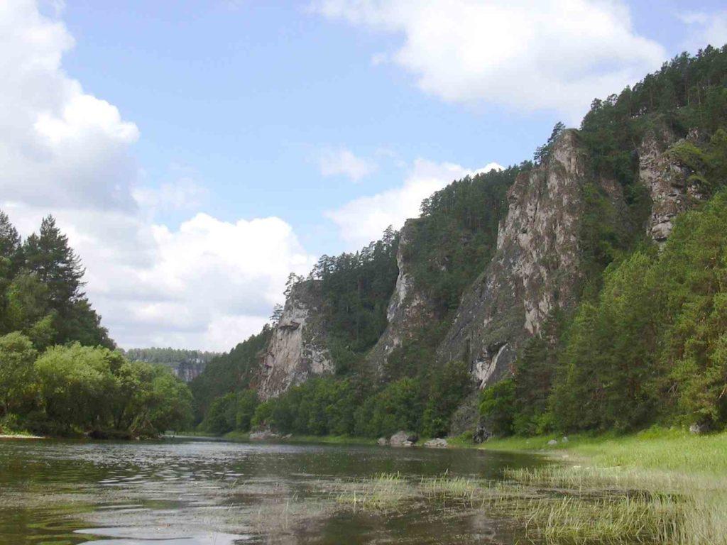 Река АЙ под Челябинском