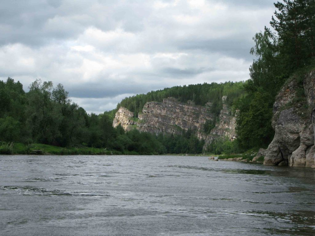 Река АЙ в Башкирии