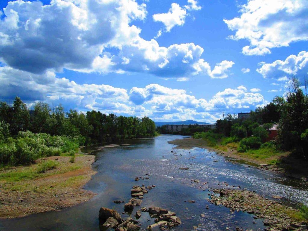 Река в Чите
