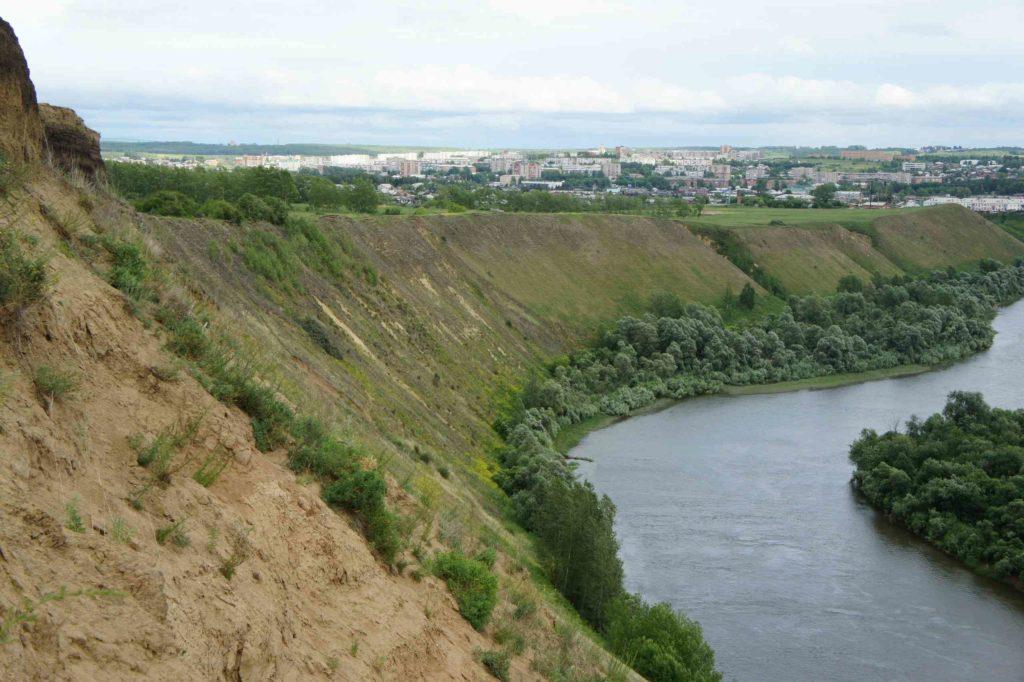 Река Чулым г.Ачинск