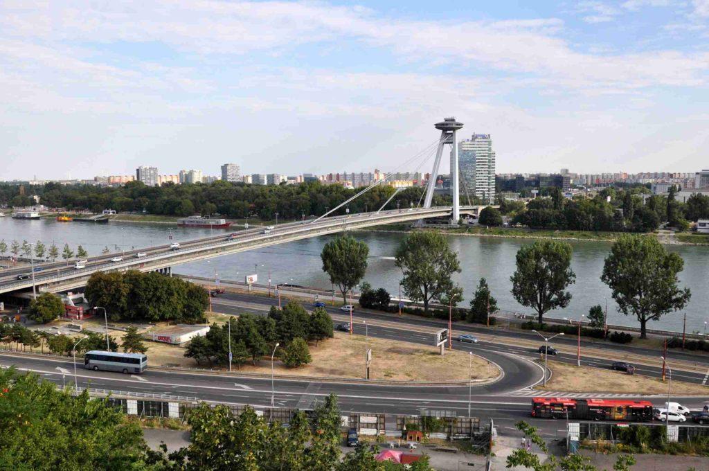 Река Дунай Братислава