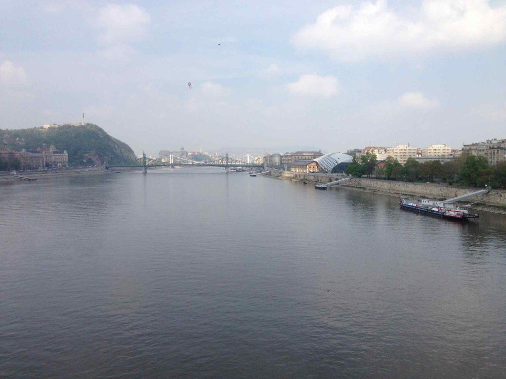 Река Дунай Будапешт