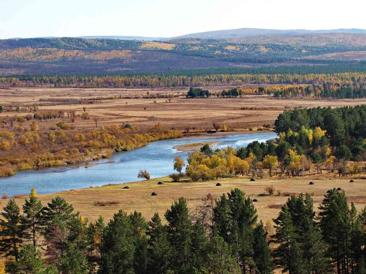 Река Ингода Забайкальский Край