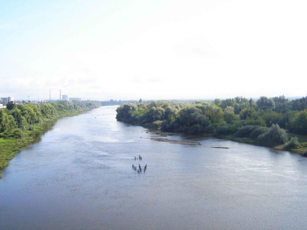 Река Клязьма во Владимире