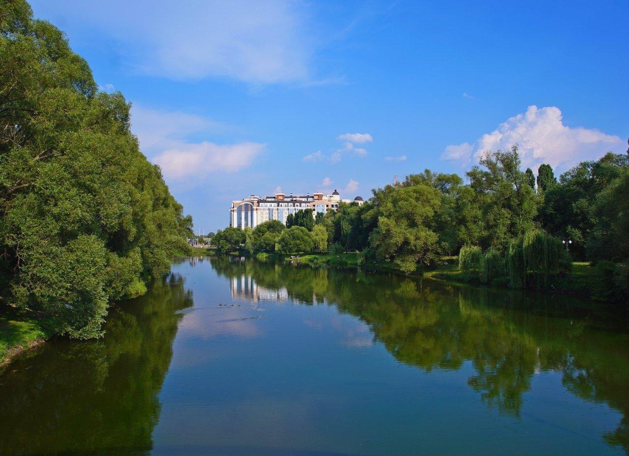 Река Северский Донец Белгород