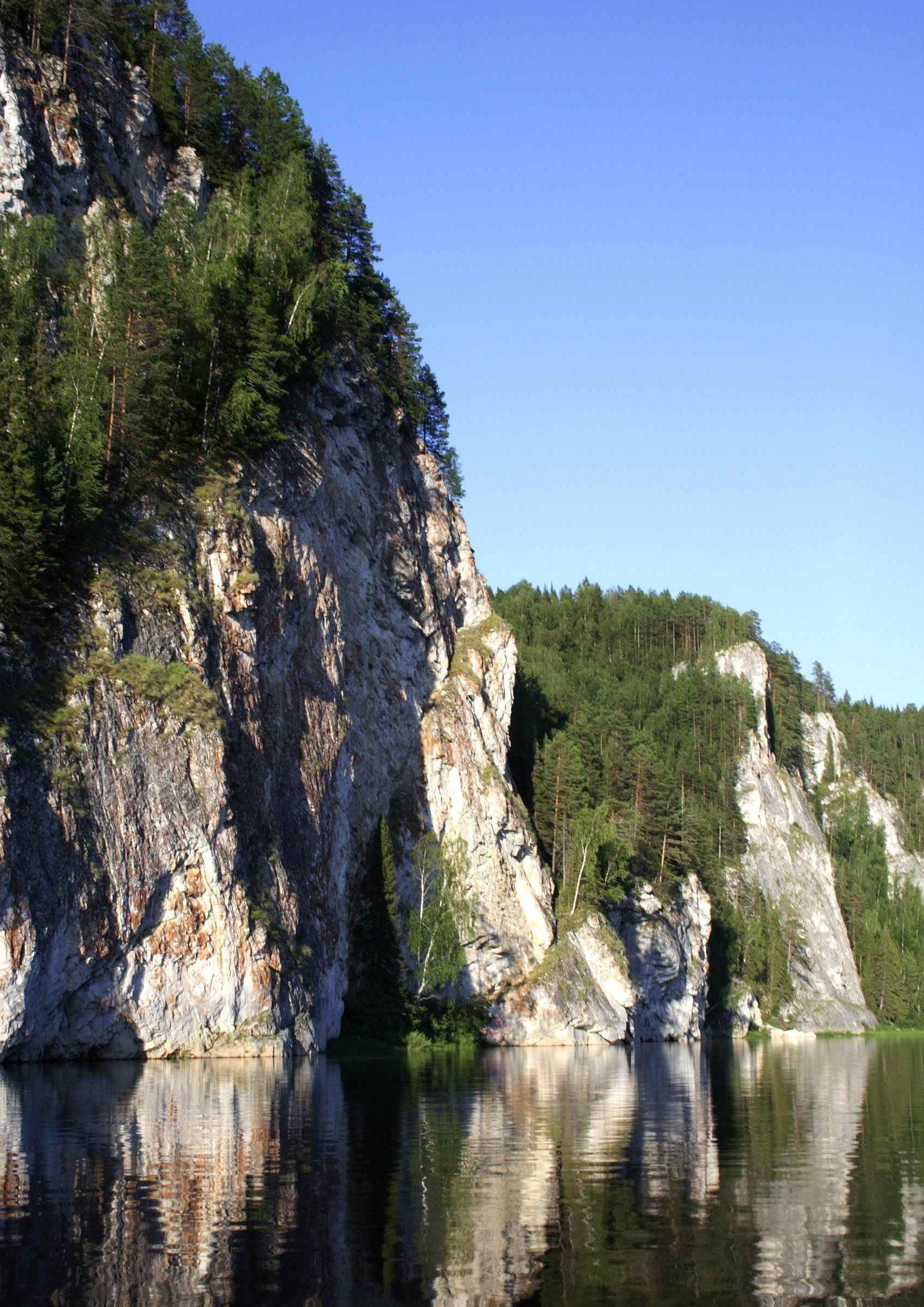 Река Вишера Пермский край