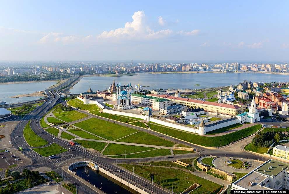 Река в Казани