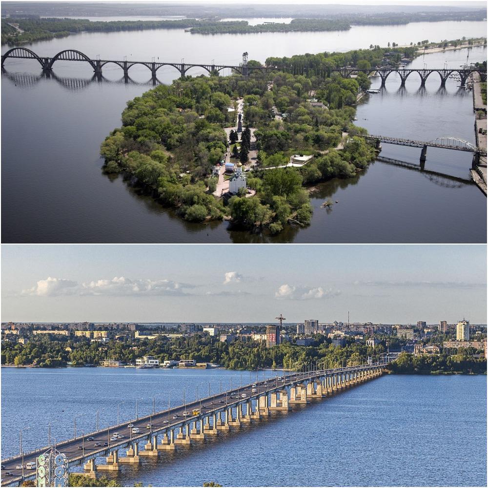 Река Днепр Днепропетровск