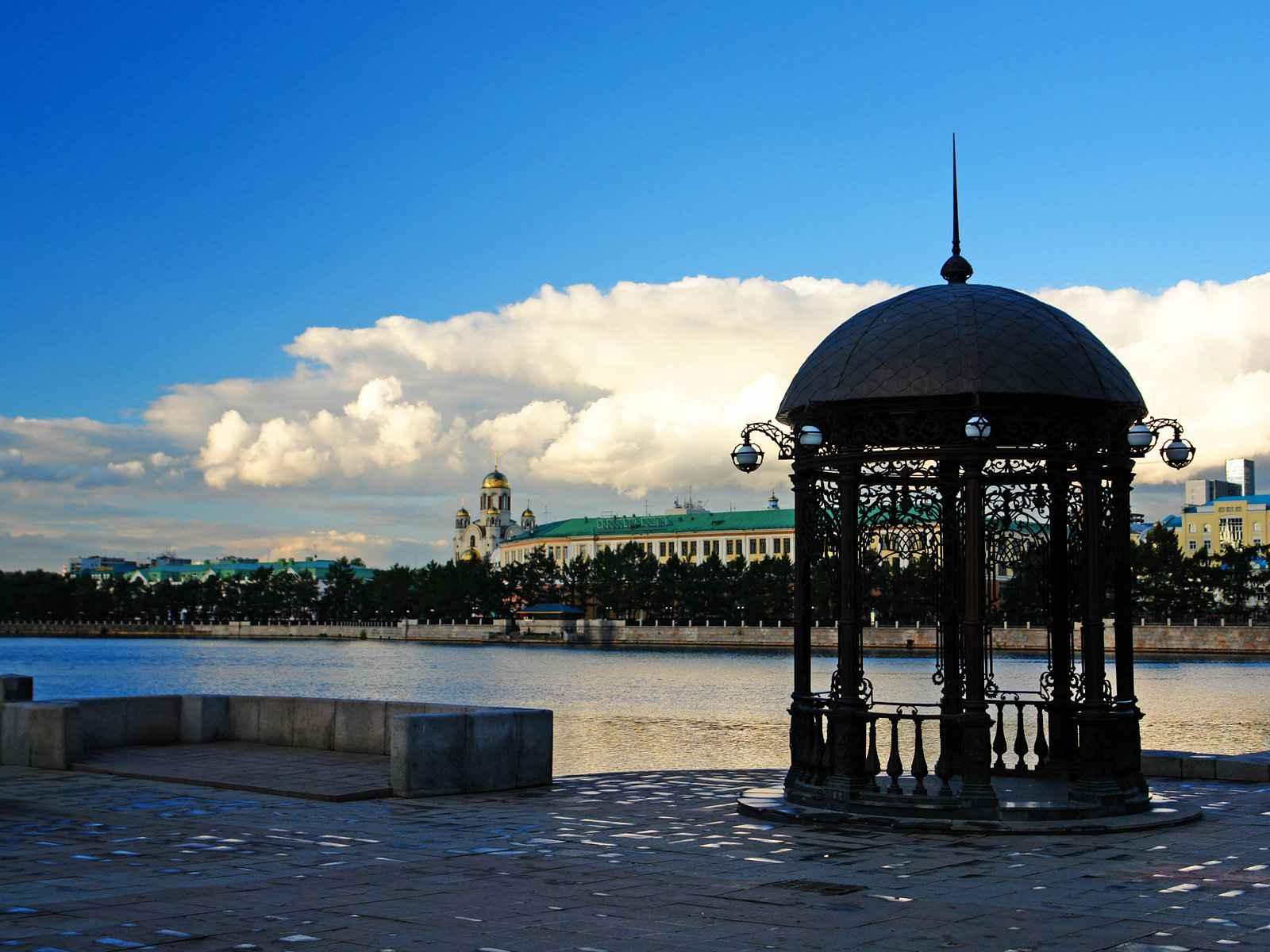 Река в Екатеринбурге