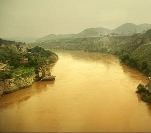 Река Хуанхе впадает в Тихий океан