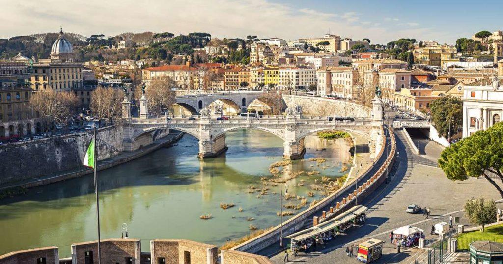 Италия река Тибр