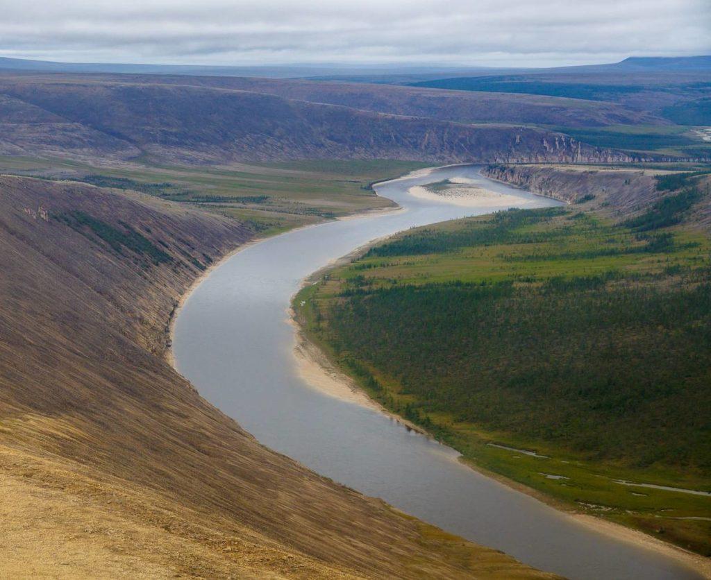 Река Хатанга