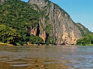 Река Меконг протекает в бассейне Тихого Океана