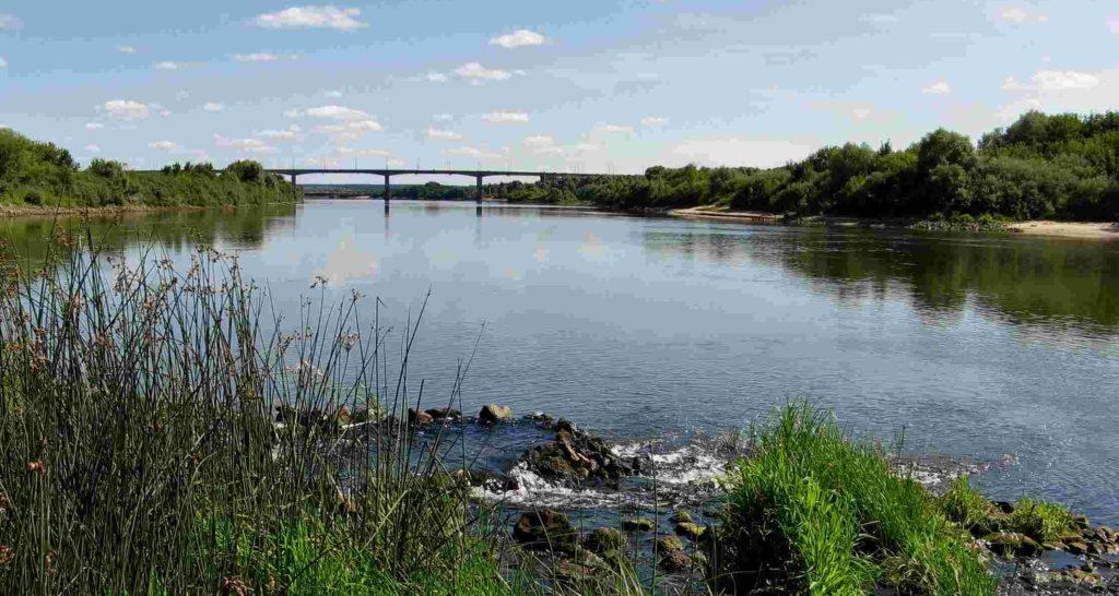 Река Ока Рязань