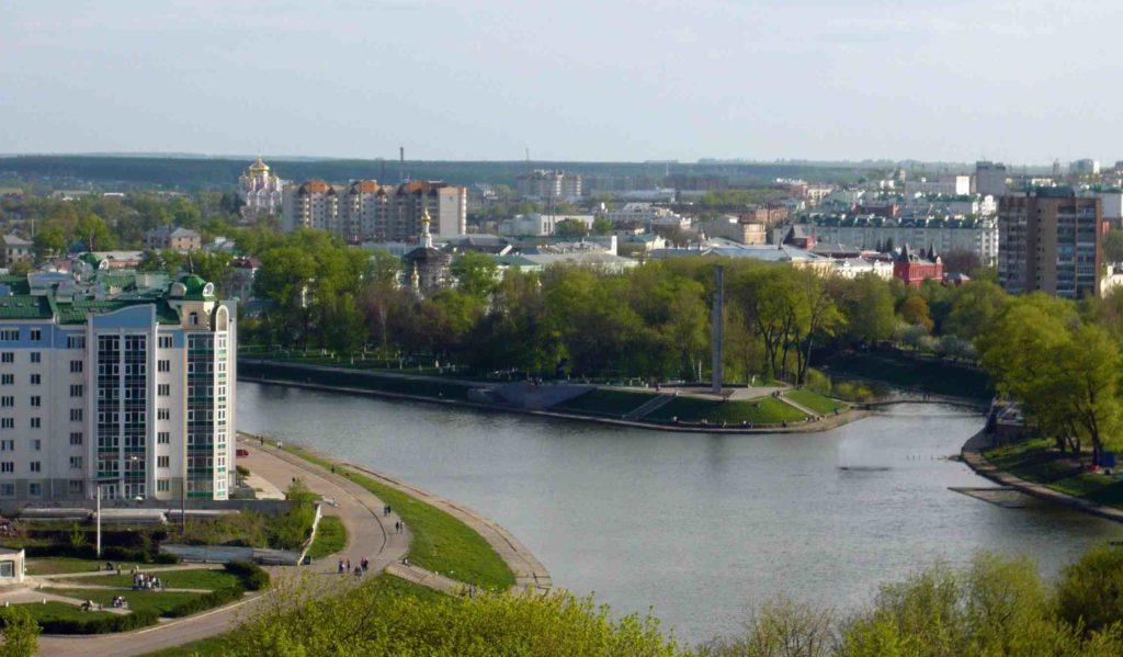Река Ока в Орле