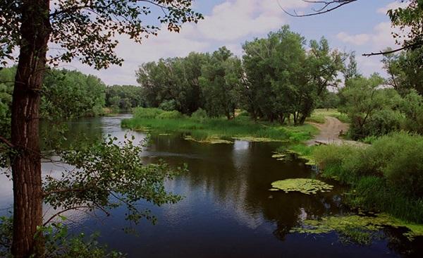Река Урал город Орск