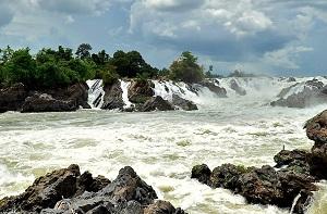 Река Меконг впадает в Тихий Океан