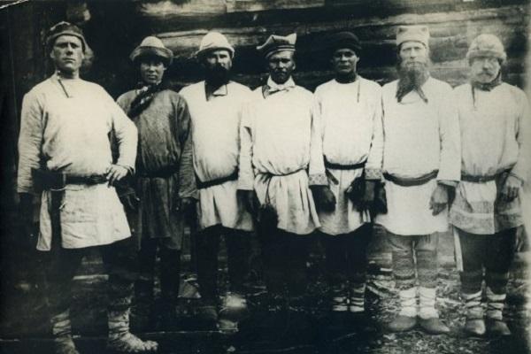 Коми-пермяки старинное фото
