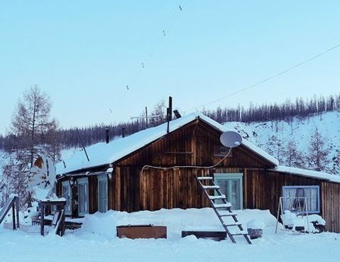 Метеостанция в Якутии