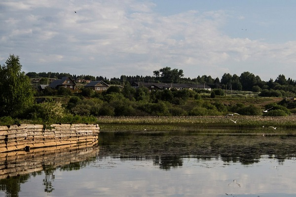 Туристическая база на реке Обва