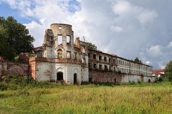 Спасо-Суморин монастырь в городе Тотьма.