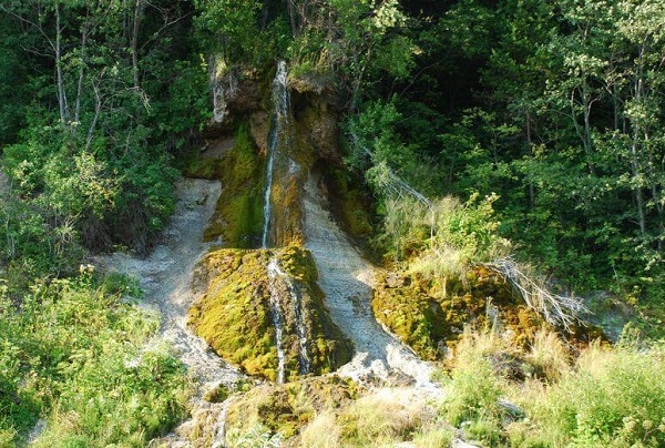 Водопад Васькин ключ