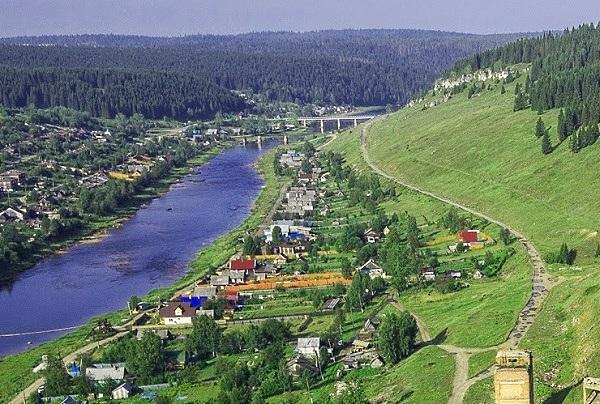 Поселок Усьва