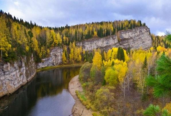 Усьва - река в Пермском крае