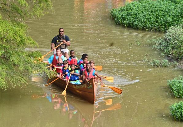 Судоходство на реке Лимпопо в Африке