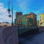 Фонарный мост. Санкт-Петербург
