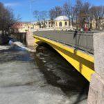 Храповицкий мост. Фото красивейшего моста Санкт-Петербурга