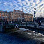 Инженерный мост. Санкт-Петербург.
