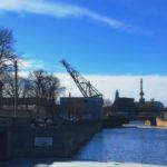 Корабельный мост. Река Мойка