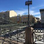 Почтамтский мост на реке Мойка