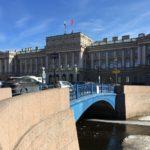 Синий мост р. Мойка