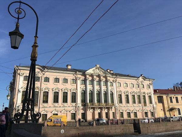 Строгановский дворец. Санкт-Петербург
