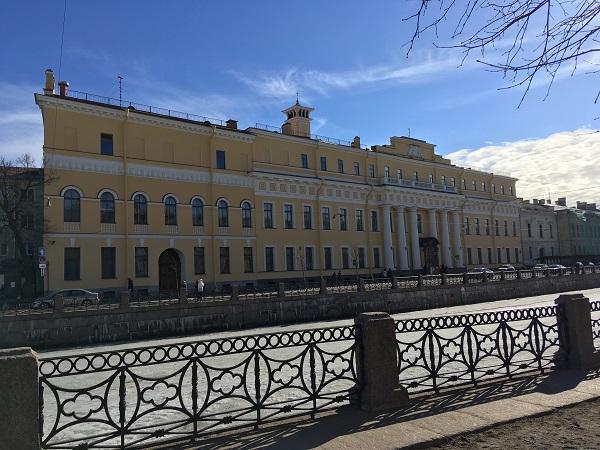 Юсуповский дворец а Санкт-Петербурге