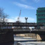 Корабельный мост, река Мойка. Петербург
