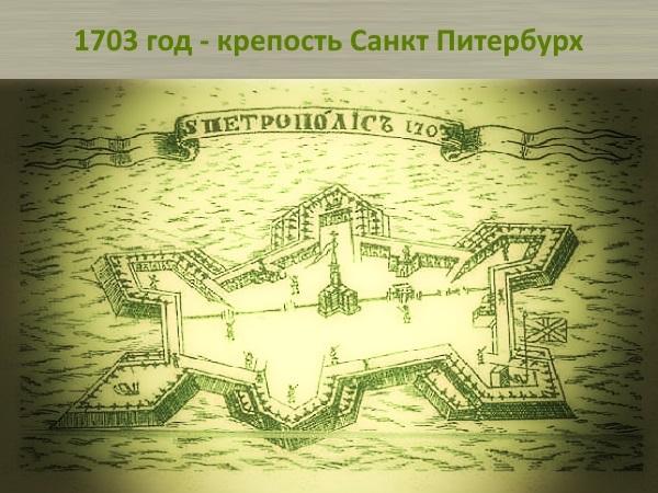 1 Крепость Санкт Питербургх