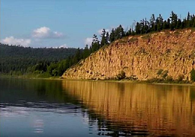 Река Бирюса красноярского края