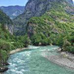 Река Бзыбь в Абхазии