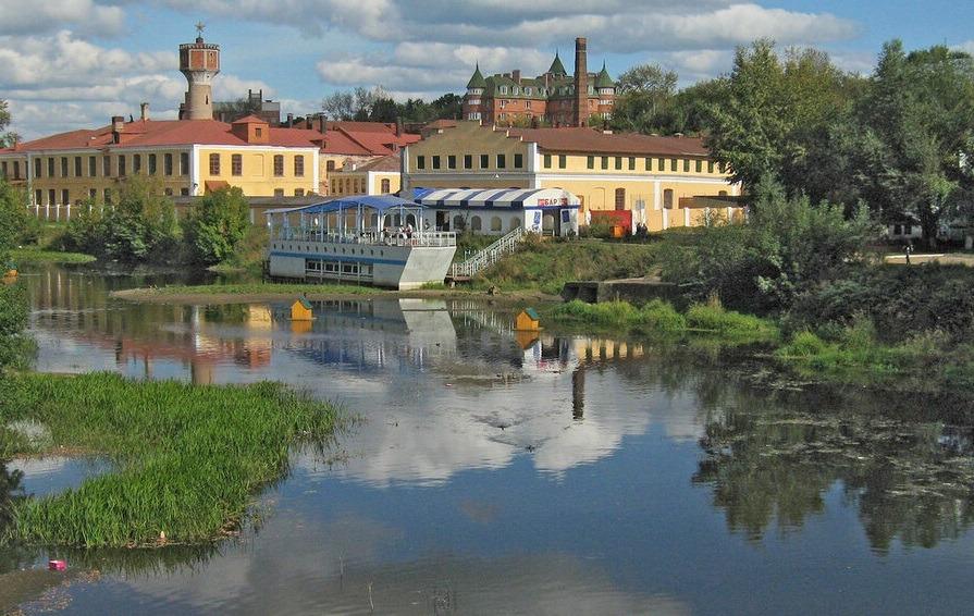 река Уводь в Иваново