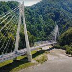 вантовый мост через реку Мзымта