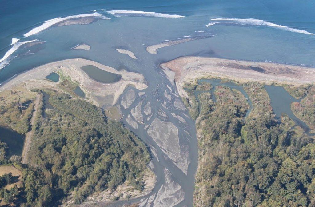 Как выглядит устье реки